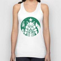 starfox Tank Tops featuring Starfox Coffee by Jimiyo