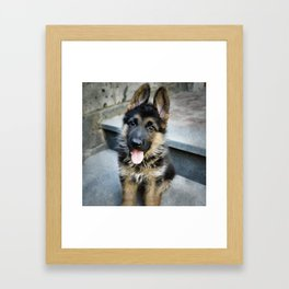 AARON 30g Framed Art Print
