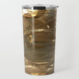 Golden Foil Travel Mug
