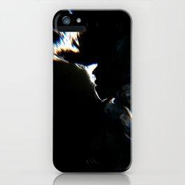 Smoky face iPhone Case