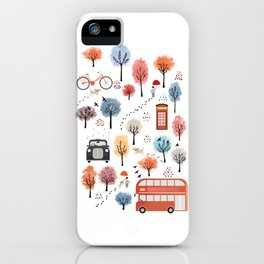 London transport iPhone Case