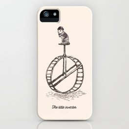 The Little Inventor iPhone Case