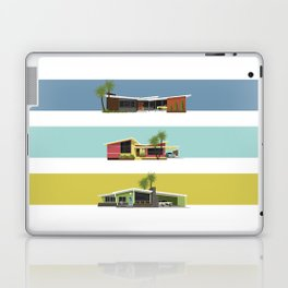 Mid Century Modern Houses 2 Laptop & iPad Skin