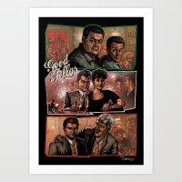 goodfellas Art Prints featuring Goodfellas by ZIMZONOWICZ