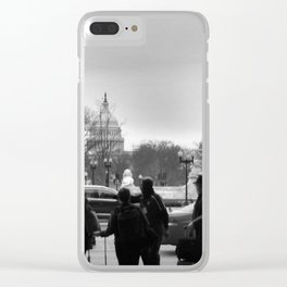 Welcome Back Clear iPhone Case