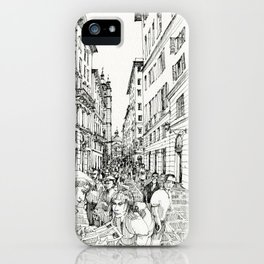 Via S. Lorenzo, Genova iPhone Case