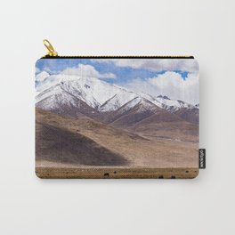 Tibet landscape with yaks Carry-All Pouch
