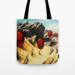 March of the Red Balloons #5 Tote Bag