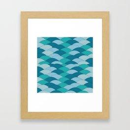 Wave 1 Framed Art Print