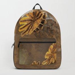 Poppy capsule Backpack