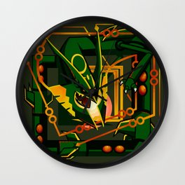 Mega Rayquaza Wall Clock