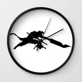Anime Kirito Inspired Shirt Wall Clock