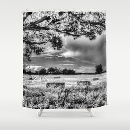 The Farm Tree  Shower Curtain