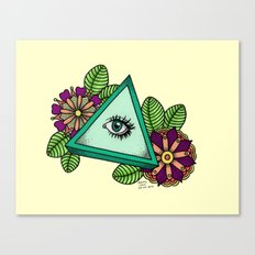 I See You △ Canvas Print