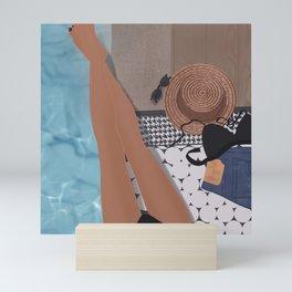 Sunbathing  Mini Art Print