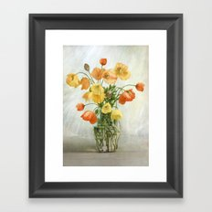 Meconopsis Cambrica Framed Art Print