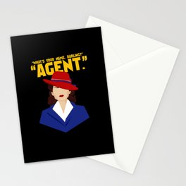 Agent Stationery Cards