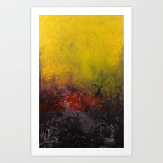 The Fire Art Print