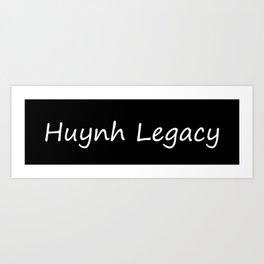 Huynh Legacy (Inverted) Art Print