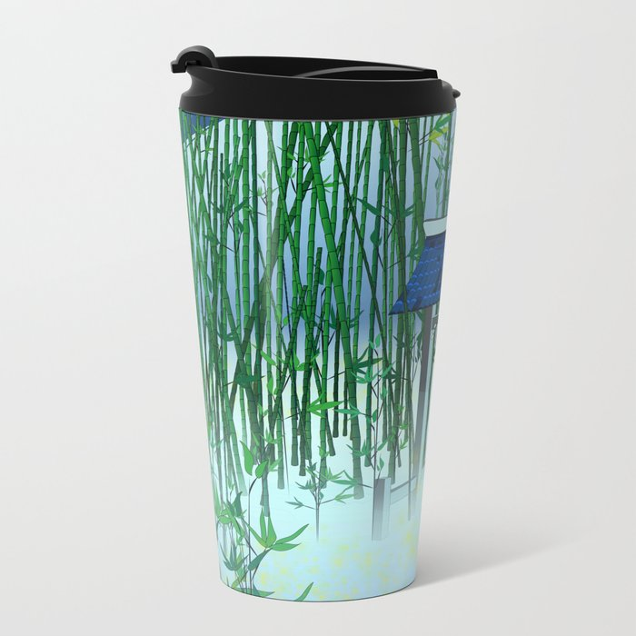 A moonless night Metal Travel Mug