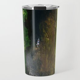 River rafting Travel Mug