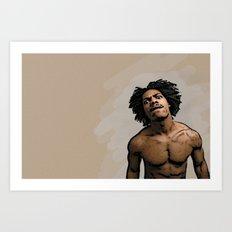 Mean Mug Art Print