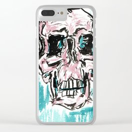 Skulls in color! Clear iPhone Case