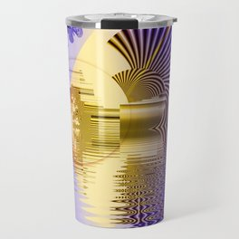 Geometric Glorious Morning Travel Mug