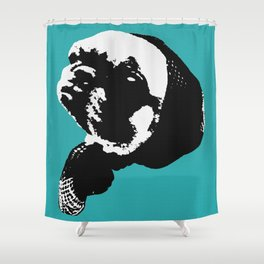 Please Sir May I Have Some More Pug Shower Curtain