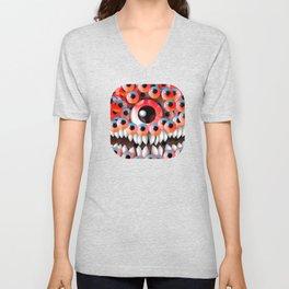 Eyeball Monster Unisex V-Neck