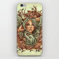 elephants iPhone & iPod Skins featuring Elephants by Heather Hitchman