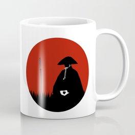 Meditating Samurai Warrior Coffee Mug