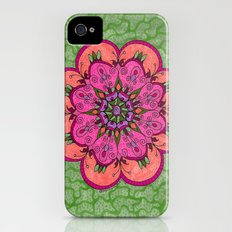 Pink Mandala Slim Case iPhone (4, 4s)