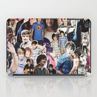 liam payne iPad Cases featuring Liam Payne - Collage by Pepe the frog