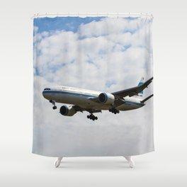 Kuwaiti Airlines Boeing 777 Shower Curtain