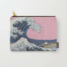 Sushi Waves Carry-All Pouch