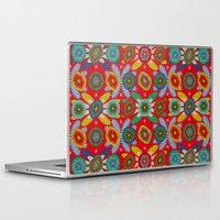 aztec Laptop & iPad Skins featuring Aztec by Helene Michau