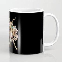 golden unicorn Coffee Mug