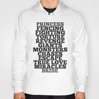 bride Hoodies featuring Princess Bride by Leah Flores