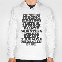 princess bride Hoodies featuring Princess Bride by Leah Flores
