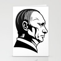 putin Stationery Cards featuring putn by b & c