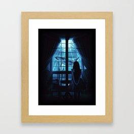 Nightly Visit Framed Art Print
