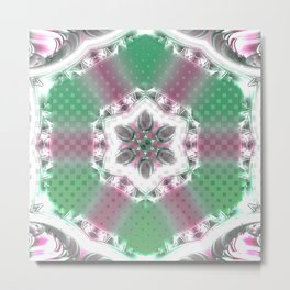 Some Other Mandala 406 Spin-off 1 Metal Print