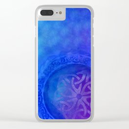 Symbols in the deep Clear iPhone Case