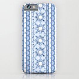 Kitty in a Blue Shoe Lace iPhone Case