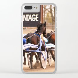 Trotters Clear iPhone Case