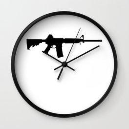 AR-15 Wall Clock