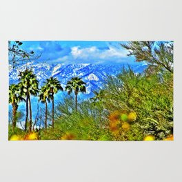Californian Landscape Rug