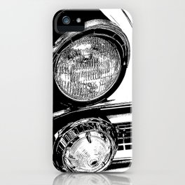 Vintage Car Taillights iPhone Case