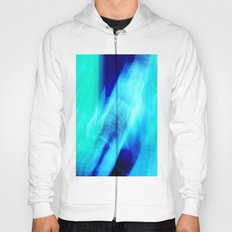 Blue & Blue (abstract) Hoody